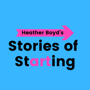 Stories of Starting Podcast logo